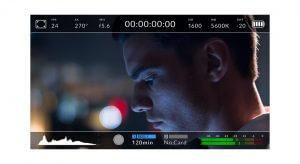 URSA Mini Heads Up Display Blackmagic Design