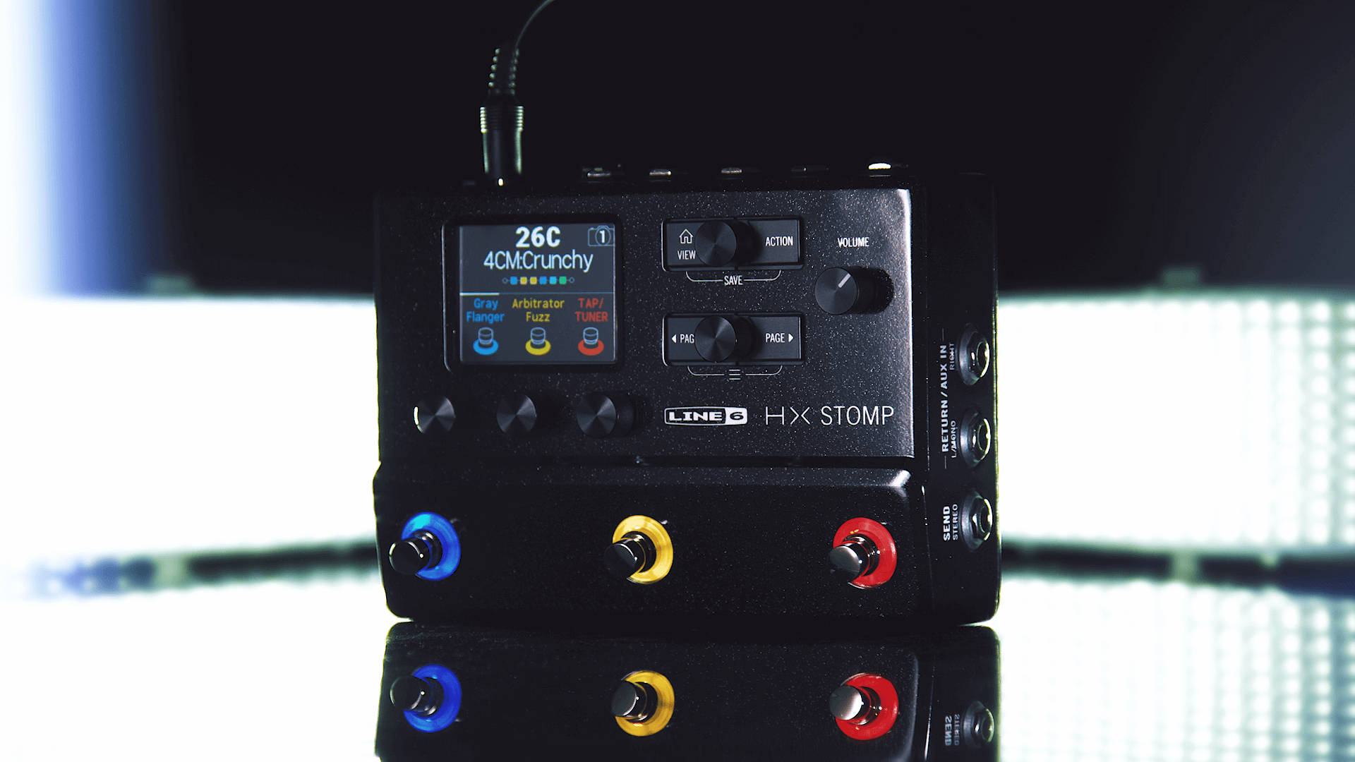 Line 6 Introduced HX Stomp - Pro Gear News - Reviews